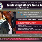 RCCG Everlasting Father's Arena Welcome