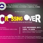 Crossover Service at RCCG EFA York