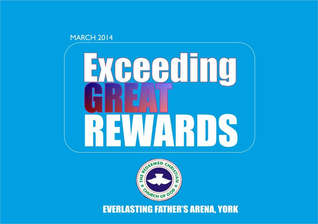 March 2014 – Exceeding Great Rewards