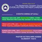 Events April 2015 Theme