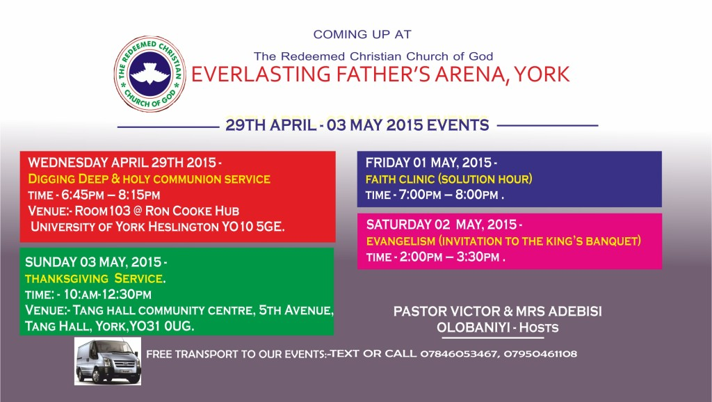April 2015 Events