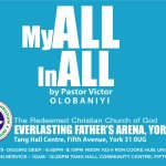 My All in All, By Pastor Victor Olobaniyi