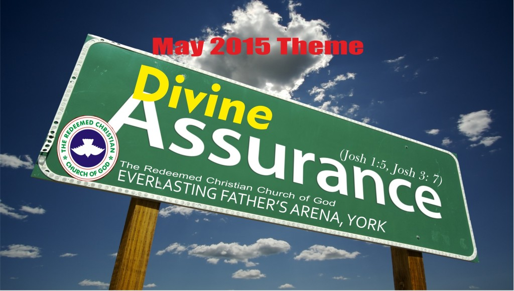 May 2015 Theme – Divine Assuarance