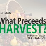 What Preceeds Harvest, by Pastor Victor Olobaniyi