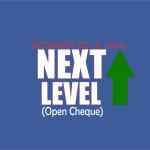 December 2015 Theme - Next Level (Open Cheque)