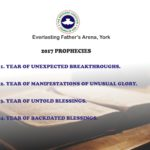 RCCGEFA York 2017 Prophecy