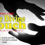 October 2017 Theme - One Divine Touch - Matt 9:18-35, Luke 13:10-13, Mark 7:31-35