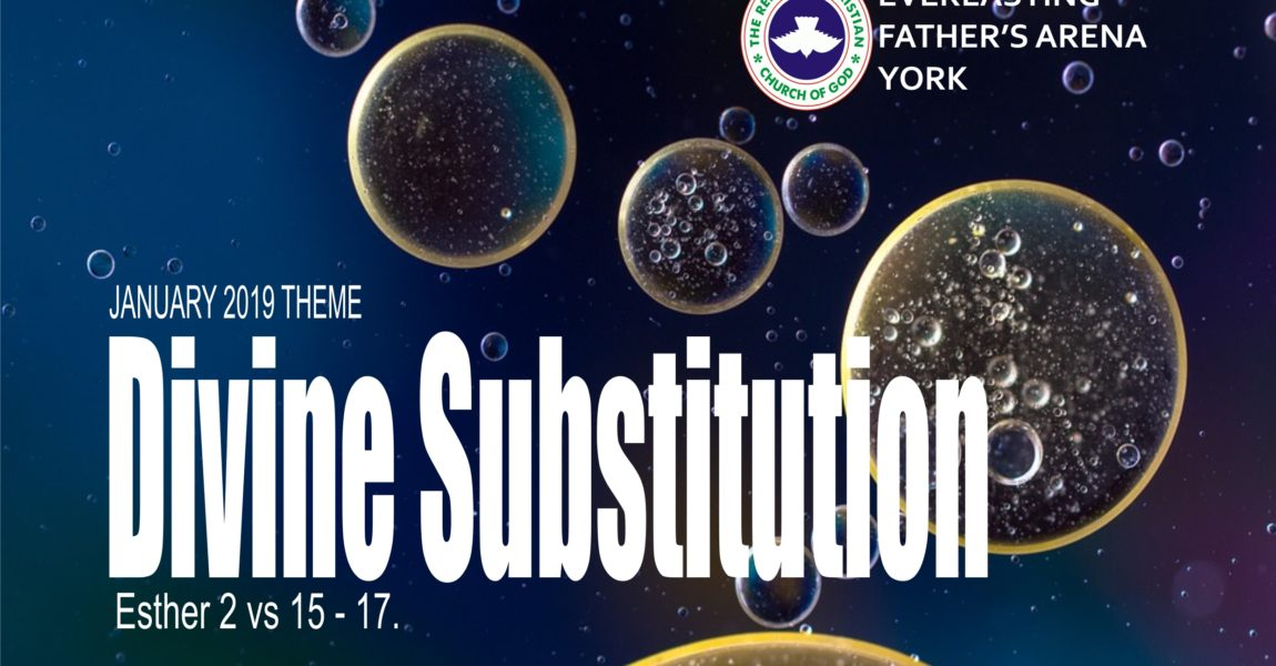 January 2019 Theme – Divine Substitution (Esther 2:15-17)